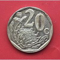 76-39 ЮАР, 20 центов 2008 г.