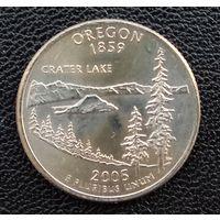 США Орегон 25 центов 2005 г. Р