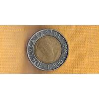 Италия 500 лир 1994 /500 лет со дня рождения Луки Пачоли(Us)