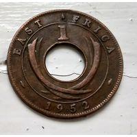 """Британская Восточная Африка 1 цент, 1952 """"H"""" - Хитон, Бирмингем  3-4-14"""