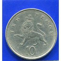 Великобритания 10 пенсов 1992