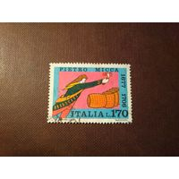 Италия 1977 г.Пьетро Микка -национальный герой Италии.