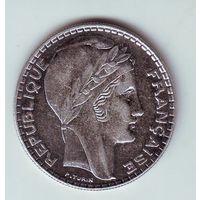 Франция. 20 франков 1938 г.