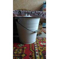 Ведро эмалированное с крышкой, 12 литров