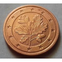 2 евроцента, Германия 2007 F