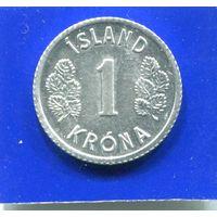Исландия 1 крона 1978