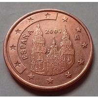 5 евроцентов, Испания 2007 г., AU