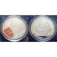 1 $ Палау - Храм Артемиды в Эфесе (монета из серии 7 чудес света)