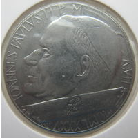 Ватикан 100 лир 1985 г. В холдере (gk)