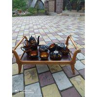 Чайный сервиз прошлый век50г.22 предмета+столик.