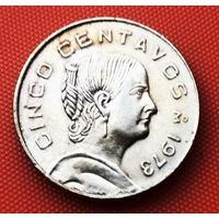 117-30 Мексика, 5 сентаво 1973 г.