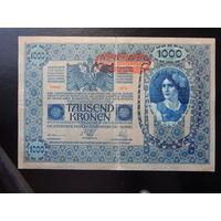 Австро-Венгрия 1000 крон 1902г