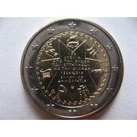 Греция 2 евро 2014г. 150 лет союзу Ионических островов и Греции. (юбилейная) UNC!