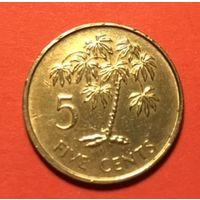 Сейшелы 5 цент 1980