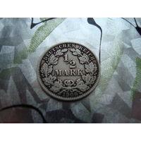 1/2 марки 1906 года серебро