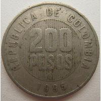 Колумбия 200 песо 1995 г.