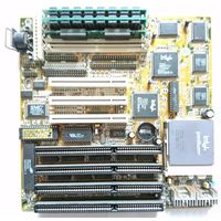 J-MARK INTEL VX J-656VXC Rev.3 + p133 SY022 Ceramic + 64 mb simm EDO