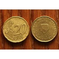 Нидерланды, 20 евроцентов 2000