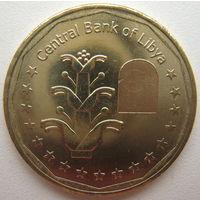 Ливия 1 динар 2017 г.