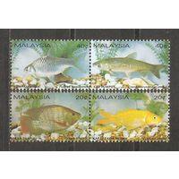 Малайзия 1983 Фауна Рыбы