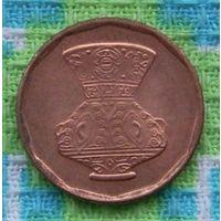 Египет 5 пиастр. Кувшин. Медь. RR. Красивые монеты в коллекцию!