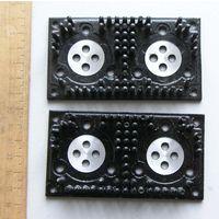 Радиаторы 2 шт. для транзисторов типа КТ805 , КТ803 в металлическом корпусе и подобных