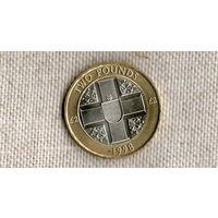 Гернси 2 фунта 1998 ///(ON)
