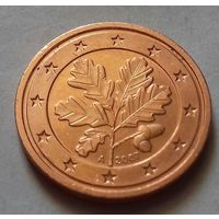 2 евроцента, Германия 2007 A, AU