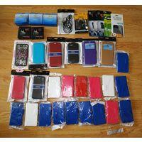Супер лот! Чехлы, зарядные, наушники, защита стекла к смартфонам 37 предметов!!!