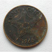 1 цент 1966 года Багамские Острова - из коллекции