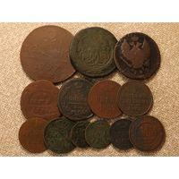 Сборный лот медных монет