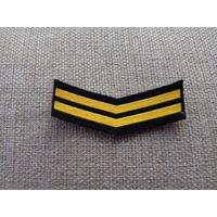 Шеврон нашивка годичка мичманов ВМФ СССР 2 года службы