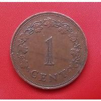 54-21 Мальта, 1 цент 1977 г.