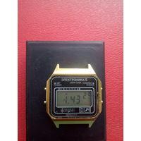 Часы Электроника в сохране с 1 рубля без мц!!! (лот3)