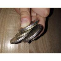 Очень старые серебряные монеты