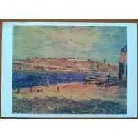 Альфред Сислей.  Берег реки в Сен-Маммесе.  1979 г.
