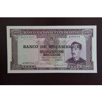 Мозамбик 500 эскудо 1967 UNC