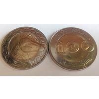 Алжир 100 динар 2015 /из ролла/