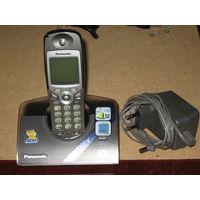 Радиотелефон Panasonic KX-TCD510RUT, с автоответчиком и АОН + новые аккумуляторы