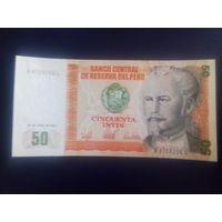 Перу 50 инти 1987г.