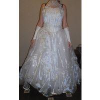 Свадебное платье, платье для фотосессии, для выпуского, наряд невесты, пышное платье