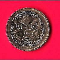 02-39 Австралия 5 центов 1983 г.