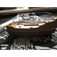 Заготовка под корабль дерево галеон моделирование