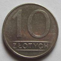 Польша, 10 злотых 1986 г