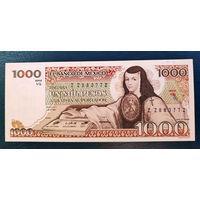 РАСПРОДАЖА С 1 РУБЛЯ!!! Мексика 1000 песо 1984 год UNC