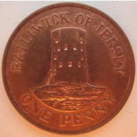 Остров Джерси 1 пенни 2006 г.