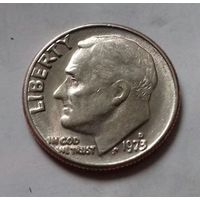 10 центов (дайм) США 1973 D