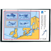 "Финляндия. Авиация. Филвыставка ""Финляндия-88"""