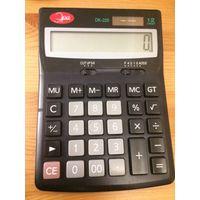 Калькулятор Эра DK-225, размер 17 на 10. Рабочий. б/у.
