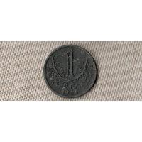 Богемия и Моравия Чехия 1 крона 1942(Oct)